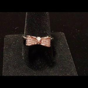 925 Silver Square Shape Emerald Ring
